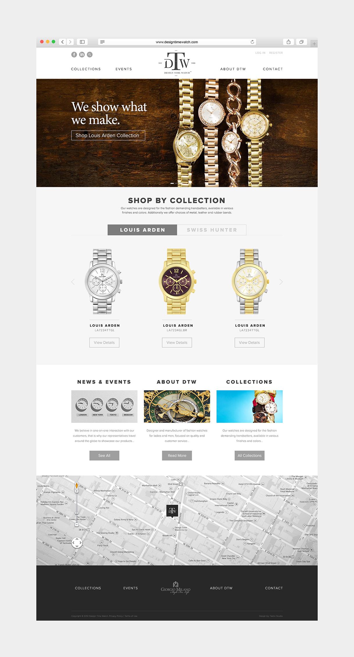 Design Time Watch